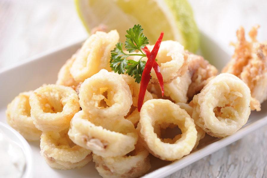 Il fritto di calamari